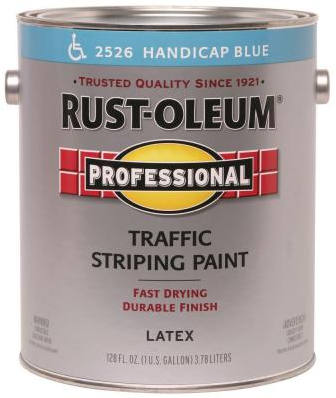 Rust-Oleum Professional Inverted Striping Paint разметочная краска суперстойкая (426 г) белая