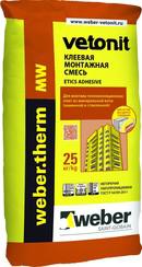 Вебер.Therm MW клеевая монтажная смесь (25 кг)