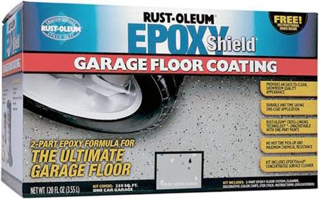 Rust-Oleum Epoxyshield Garage Floor Coating Kit покрытие эпоксидное для гаражных полов