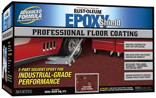 Rust-Oleum Epoxyshield Professional Floor Coating Kit покрытие эпоксидное профессиональное (7.57 л) серебристо-серое