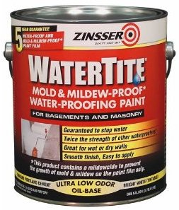 Rust-Oleum Zinsser WaterTite краска водоотталкивающая противогрибковая