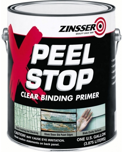 Rust-Oleum Zinsser Peel Stop прозрачный связывающий грунт для потрескавшихся поверхностей (946 мл)