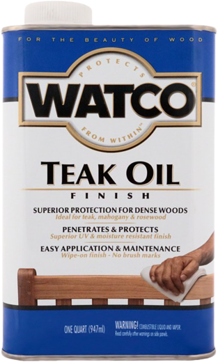 Rust-Oleum Watco Teak Oil тиковое масло (3.78 л)
