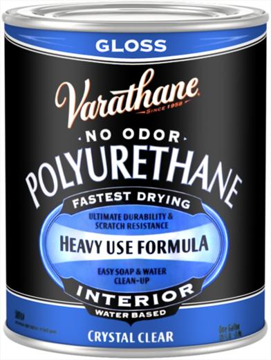 Лак водный для внутренних работ Rust-Oleum Varathane Polyurethane Interior Crystal Clear (946 мл) полуматовый