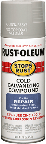 Rust-Oleum Stops Rust Cold Galvanizing Compound компаунд для холодного цинкования (454 г)