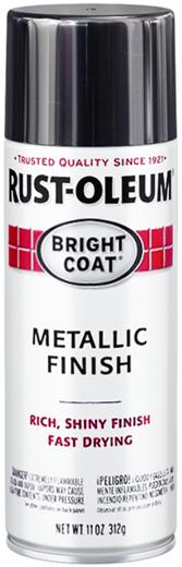 Rust-Oleum Stops Rust Bright Coat Metallic Finish эмаль с эффектом сияющего металлика (312 г) золото сияющий металлик