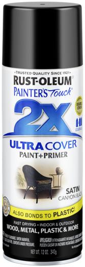 Rust-Oleum Painter's Touch 2X Ultra Cover краска универсальная на алкидной основе (340 г) желтая солнечная