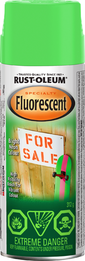 Rust-Oleum Specialty Fluorescent краска флуоресцентная (312 г) зеленая