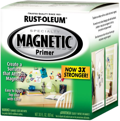 Rust-Oleum Specialty Magnetic Latex Primer грунт для создания магнитирующей поверхности (946 мл)