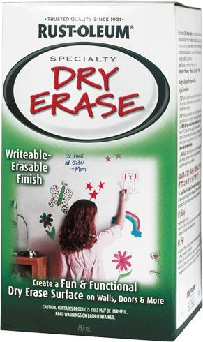 Rust-Oleum Specialty Dry Erase краска с эффектом маркерная доска