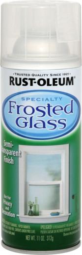 Rust-Oleum Specialty Frosted Glass краска с эффектом замерзшего стекла
