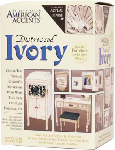 Rust-Oleum American Accents Distressed Ivory краска с эффектом состаренной поверхности
