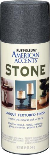 Rust-Oleum American Accents Stone Textured Finish краска эффект камня (340 г) сиенский камень камень
