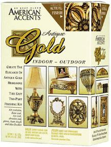 Rust-Oleum American Accents Antique Gold краска эффект античности античное золото