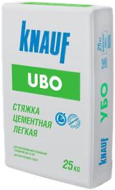 Кнауф Убо стяжка цементная легкая (25 кг)
