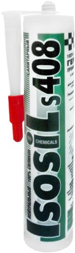 Iso Chemicals Isosil S408 Санитарный нейтральный силиконовый герметик (310 мл) бесцветный