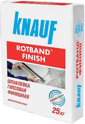 Кнауф Ротбанд Финиш шпаклевка гипсовая финишная