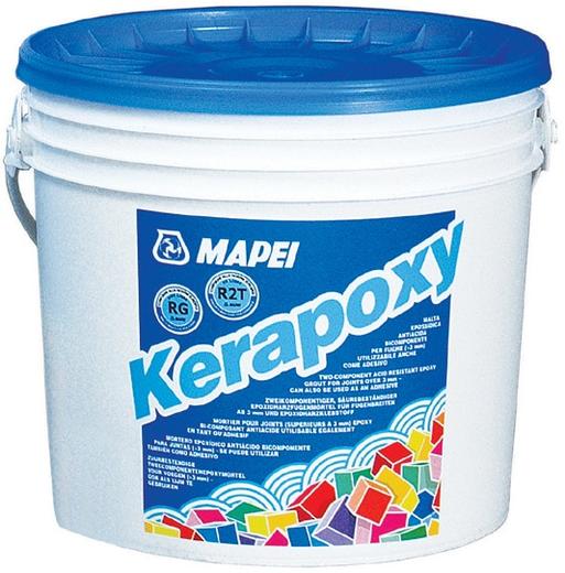 Mapei Kerapoxy клей-затирка швов эпоксидный (5 кг) №130 жасмин
