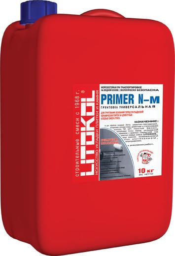Литокол Primer N-m грунтовка универсальная (5 кг)