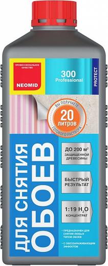 Неомид 300 средство для снятия обоев (500 мл) готовый раствор