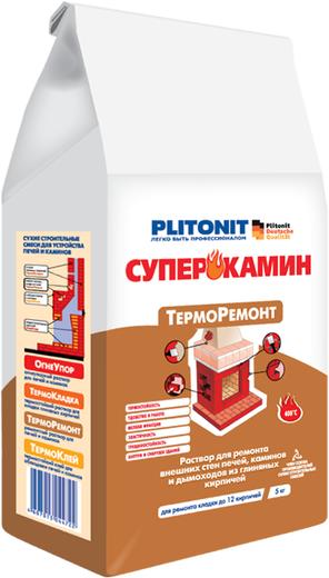 Плитонит Суперкамин Терморемонт раствор для ремонта