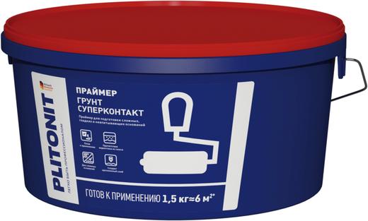 Плитонит Грунт Суперконтакт праймер