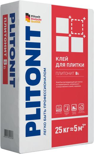 Плитонит Вб клей быстротвердеющий (5 кг)