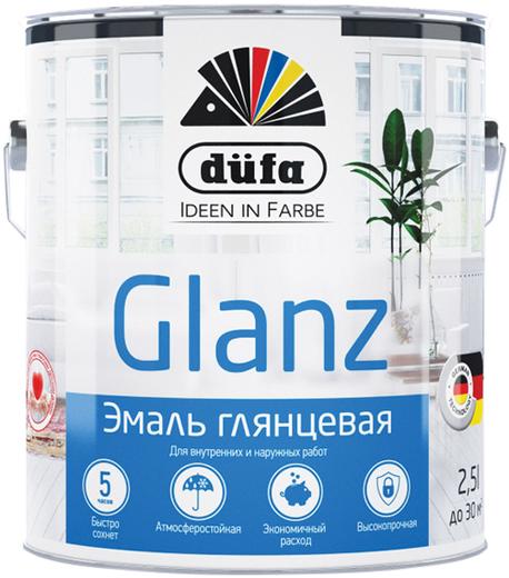 Dufa Retail Glanz эмаль глянцевая (2.5 л) белая