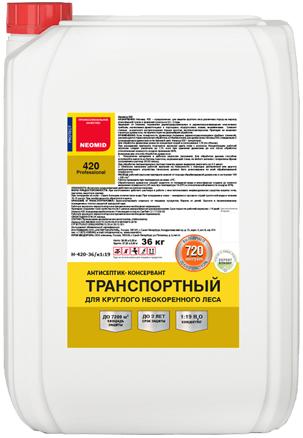 Неомид 420 антисептик-консервант транспортный (36 кг) кофе с молоком