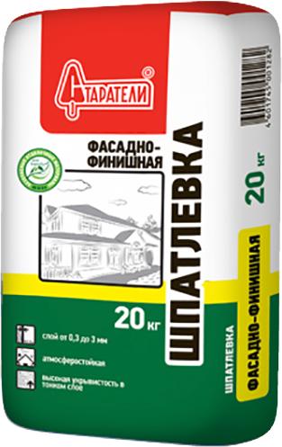 Старатели шпатлевка фасадно-финишная (20 кг)