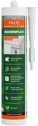 Макрофлекс FA131 герметик акриловый морозостойкий высокоэффективный (300 мл) белый