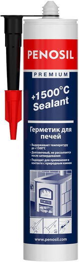 +1500°c sealant для печей 310 мл темно-серый