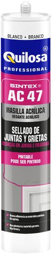 Quilosa Sintex Q AC47 акриловый универсальный герметик (280 мл) черный
