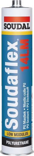 Soudal Soudaflex 14LM полиуретановый герметик (600 мл) белый
