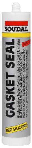 Soudal Gasket Seal высокотемпературный силикон (280 мл) красный