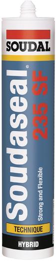 Soudal Soudaseal 235SF гибридный клей-герметик (290 мл) черный