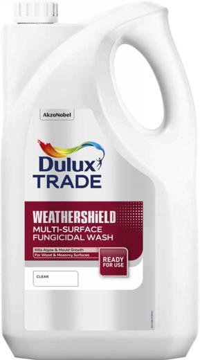 Dulux Trade Weathershield Multi-Surface Fungicidal Wash грунтовочный биозащитный раствор (5 л)
