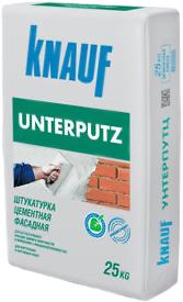 Кнауф Унтерпутц штукатурка цементная фасадная (25 кг)