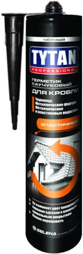 Титан Professional герметик каучуковый для кровли эластичный (310 мл) бесцветный