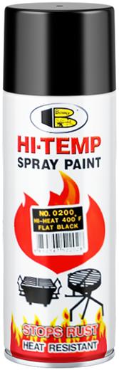 Bosny Hi Temp Spray Paint термостойкая спрей-краска