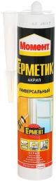 Момент Акрил Универсальный герметик акриловый морозостойкий (420 г) белый