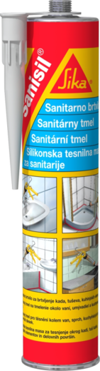 Sika Sanisil силиконовый герметик для санитарно-технических работ (300 мл) белый
