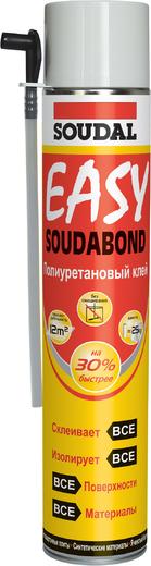 Клей Soudal Soudabond easy полиуретановый в аэрозоле 750 мл