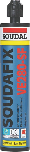 Soudal Soudafix VE280-SF химический анкер (280 мл)