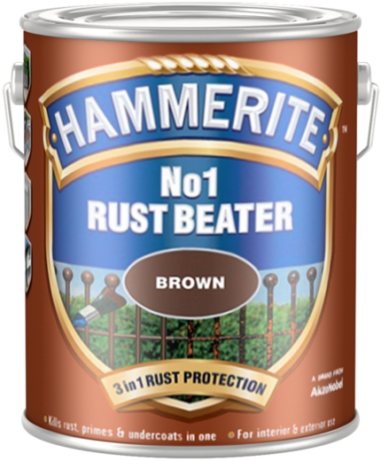Hammerite Rust Beater No1 антикоррозийный грунт для черных металлов (2.5 л)