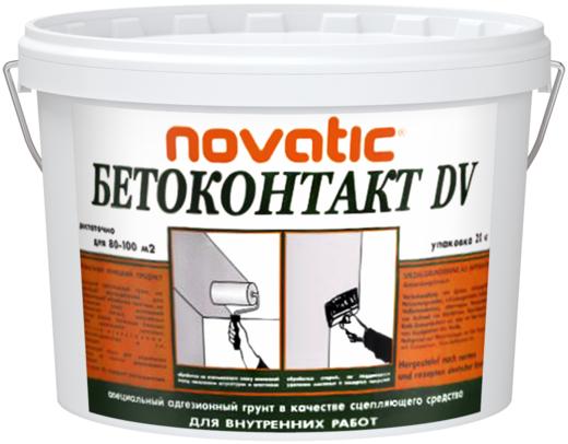 Feidal Novatic Бетон-контакт DV специальный акриловый адгезионный штукатурный грунт (5 кг) неморозостойкий
