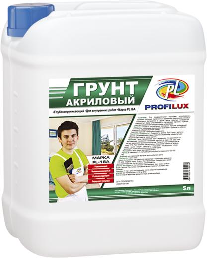 Профилюкс PL-16А грунт акриловый (10 л)