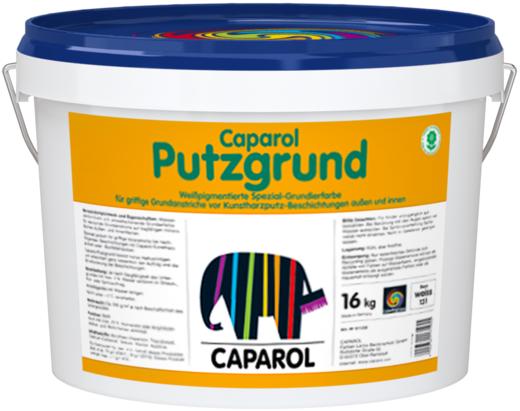 Caparol Putzgrund водоразбавляемая специальная грунтовочная краска (8 кг) белая