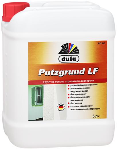 Грунт Dufa Putzgrund lf rd 313 на основе акрилатной дисперсии 5 л