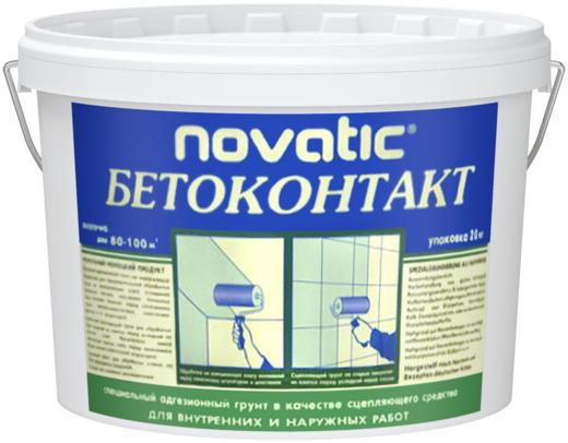 Feidal Novatic Бетон-контакт специальный акриловый адгезионный штукатурный грунт (5 кг) морозостойкий